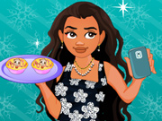 Moana Prepara Omeletes e Tira uma Selfie