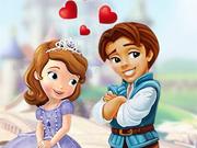 Princesinha Sofia Primeiro Beijo
