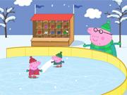 Peppa Pig Faz Patinação e Matemática