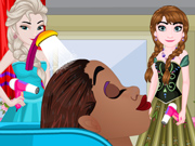 O Salão das Princesas Elsa e Anna