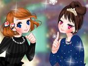 Vista e Maquie Duas Meninas Encantadoras