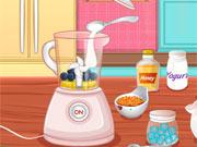 Prepare Milk-shake de Fruta