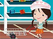 Menina no Mercado