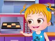 Baby Hazel Cozinha para os Animais