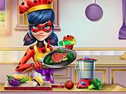 Cozinhando com Ladybug