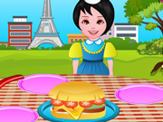 Prepare Hambúrgueres Franceses