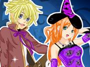 Três Amigos no Dia das Bruxas