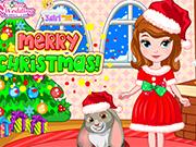 Vista Princesinha Sofia Para o Natal