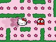 Hello Kitty no Jardim