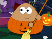 Pou Arruma a Bagunça do Halloween