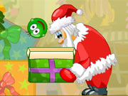 Colocar as Bolinhas de Natal na Caixa