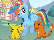 Rainbow Dash Adora Pokémon Go