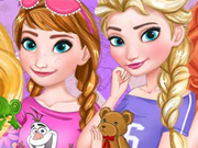 Festa do Pijama Frozen