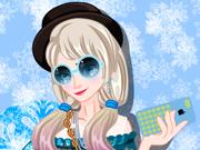 Princesa Frozen Estilo Hipster