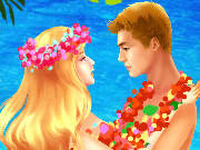 Beijo na Praia Havaiana