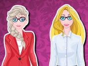 Elsa e Rapunzel: A Entrevista de Emprego