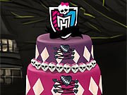 Decorar o Bolo dos Monster High