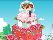 Bolo de Casamento com Rosas 3