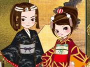 Vista o Casal Japonês