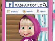 Masha e a Nova Foto de Perfil