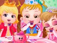 Baby Hazel Toma Chá Com As Amigas