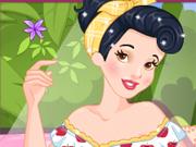 Vista Princesas De Estilo Pinup