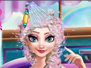 Elsa Grávida no Spa