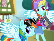 My Little Pony: Vista a Rainbow Dash
