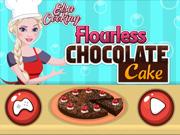 Elsa Prepara Bolo de Chocolate Sem Farinha