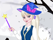 Elsa Estilo Harry Potter