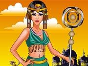 Vista a Rainha Cleopatra