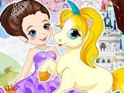 Princesa com Unicórnio