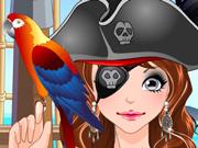 Vista e Maquie a Capitã Pirata