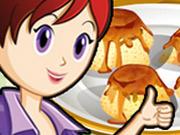 Sara Cozinha Pudim de Passas