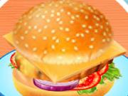 Emma Prepara Um Hambúrguer Vegetariano