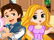 Arrume a Cozinha da Rapunzel