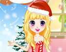 Vestir a Menina para o Natal