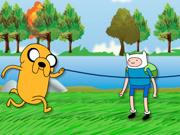 Jake e Finn: Pulando Corda