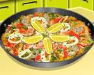 Cozinhar uma Deliciosa Paella