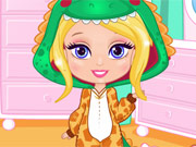 Vista Barbie de Pijama Chibi
