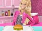 Barbie Lanchonete de Hambúrguer