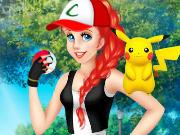 Ariel Joga Pokémon Go!