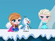 Anna e Olaf Salvam Elsa