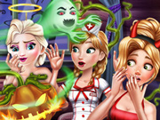 Pegadinhas de Halloween com as Princesas Disney