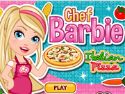 Chef Barbie Cozinha Pizza Italiana
