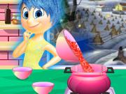 Alegria Prepara Sopa de Tomate