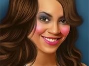 Maquiando a Beyonce