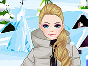 Estilo na Pista de Ski