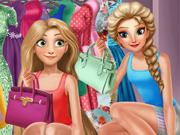O Guarda-Roupas da Elsa e da Rapunzel