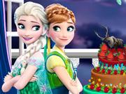 Princesas Frozen e Monster High: O Melhor Bolo